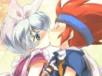 beyblade crossdressing gay ginga_hagane hyioma_hagane kissing male trap yaoi