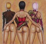 ada_wong art_of_fighting big_ass crossover edithemad huge_ass isabella_valentine king_(snk) king_of_fighters resident_evil soul_calibur