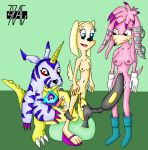 3pac archie_comics brandy_and_mr._whiskers brandy_harrington crossover digimon disney gabumon julie-su mawile nintendo pokemon sega sonic_(series)