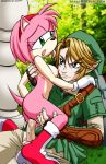 amy_rose anthro bbmbbf big_breasts breasts cowgirl_position crossover cum_in_pussy cum_inside erection female hedgehog human_on_anthro legend_of_zelda link male mobius_unleashed nipples nude palcomix penetration penis pussy rule_34 sega sex sonic_(series) straight tail the_legend_of_zelda vaginal vaginal_penetration
