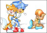"""1girl 2boys anal anthro archie_comics breasts cute fingering furry gay miles_""""tails""""_prower miles_prower multiple_boys multiple_tails nipples penis purity pussy sally_acorn sonic sonic_team sonic_the_hedgehog tail yaoi"""