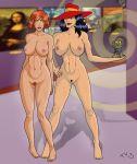 art big_breasts breasts carmen_sandiego crossover ivy mind_control mona_lisa nipples nude trishbot waldo where's_waldo where_in_the_world_is_carmen_sandiego
