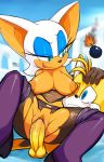 "anthro areola big_breasts blue_eyes bomb breasts canine crying erect_nipples erection female fox male marthedog miles_""tails""_prower miles_prower nipples penetration penis pussy pussy_juice rouge_the_bat sega sex smile sonic_(series) tears testicles vaginal vaginal_penetration wet wet_pussy"