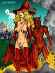 breasts casper casper_the_friendly_ghost erect_nipples hairless_pussy harvey_comics hot_stuff lonelysatyr nipples nude pussy wendy wendy_the_good_little_witch