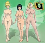 big_breasts breasts captain_planet doctor_blight gi linka mal mind_control nipples nude pubic_hair trishbot