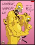 bondage father_and_daughter homer_simpson incest insanely_hot lisa_simpson oppai_loli rape sbb slappyfrog slappyfrog_(artist) stomach_bulge the_simpsons yellow_skin