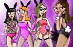 bunnysuit candace_flynn jenny_brown phineas_and_ferb playboy playboy_bunny stacy_hirano vanessa_doofenshmirtz