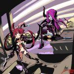 crossover filia oh8 parasoul samson skullgirls witchblade