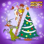 christmas christmas_tree eltonpot eltonpot_(artist) furry jackpot_the_jackass ladder mellany_mellons