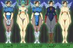 big_breasts breasts chun-li mind_control nipples nude street_fighter trishbot