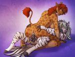 anus ass cum diamond_(character) equine female futanari giraffe hetero intersex interspecies kadath male nude penetration penis pussy puzzle_(character) sex testicles vaginal vaginal_penetration zebra