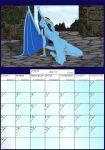 breasts calendar fab3716 female gargoyles june nude pussy solo turquesa