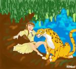 animated disney dress gif jaguar jane_porter jungle rommel sabor tarzan