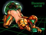 all_fours ass bestiality blucanary metroid metroid_(creature) nintendo samus_aran sex