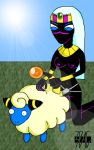 3pac crossover duck_dodgers mareep pokemon queen_tyr'ahnee