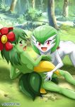 bellossom blush breasts gardevoir palcomix pokemon pokepornlive tagme