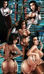 anus ass big_breasts bioshock bioshock_infinite blue_eyes breasts brown_hair burial_at_sea cigarette comic curvy elizabeth father_and_daughter hair incest lingerie lipstick nipples nude pubic_hair pussy pussy_juice shadman smoke smoking undressing