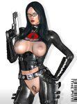 3d baroness g.i._joe nude the_pitt the_pitt_(artist)
