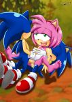 amy_rose anal double_filling double_penetration mobius_unleashed sega sex sonic sonic_team sonic_the_hedgehog vaginal