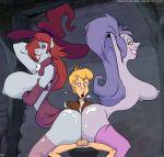 arthur_pendragon buttjob disney king_arthur long_hair madam_mim purple_hair slb stockings the_sword_in_the_stone whore witch