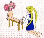bondage chibi_usa feet pussy sailor_moon small_breasts tickling