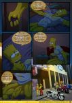 bart_simpson comic embarrassed kogeikun_(artist) sexy_sleep_walking the_simpsons yellow_skin