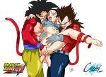 chichi double_penetration dragon_ball_gt dragon_ball_z female goku sex son_goku vegeta
