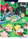comic elesa flannery luxray pokemon pokepornlive skyla tagme truth_or_dare
