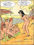 archie beach breasts comic nude pussy