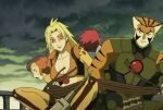 big_breasts breasts cheetara cleavage huge_breasts screenshot thundercats thundercats_2011