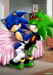anal bed blush cum cum_in_ass gay gay_love hands_behind_back love rear_deliveries reardeliveries scourge_the_hedgehog sex sonic sonic_team sonic_the_hedgehog yaoi