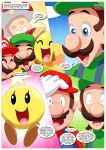 luigi mario palcomix super_mario_bros. tagme when_the_bros_are_away
