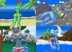 bellossom dragonair mareep nidoqueen pikanjo pokemon