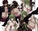 1girl 2boys anal anal_insertion anal_object_insertion ass black_hair boots bottomless boy_rape breasts brown_hair c.c. cc code_geass cum cum_in_ass cum_in_pussy cum_inside cum_while_penetrated fellatio femdom futa_on_male futa_with_male futanari green_hair hand_on_another's_head hand_on_head hetero insertion kururugi_suzaku lelouch_lamperouge male multiple_boys multiple_views no_testicles nude object_insertion open_mouth oral panties pegging penis penis_piercing piercing rape sex shiraishi_asuka tears testicles thigh_boots thighhighs topless uncensored underwear underwear_only vibrator voyeurism yellow_eyes