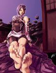 aqua_(kingdom_hearts) barefoot feet kingdom_hearts kingdom_hearts_birth_by_sleep pov_feet scamwich scamwich_(artist) soles toes