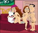 ass breasts brian_griffin dildo family_guy glenn_quagmire handjob luberne masturbation meg_griffin penis pussy tropicoboy_(artist)