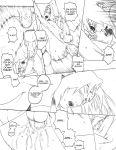 comic itachi monochrome naruto sasuke_uchiha