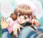 black female heart imminent_sex npc_trainer nurse nurse_joy pokemon pokemon_(game) pokemon_bw speech_bubble