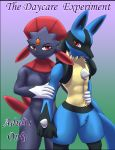 comic lucario pokemon weavile