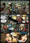 comic hot_duels jill_valentine left_4_dead r_ex_(artist) resident_evil zoey