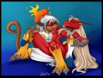blaziken breasts couple female hetero infernape male nude piercing pokemon pussy unknown_artist
