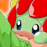 artist_request bellossom bestiality blush fellatio lowres masato_(pokemon) oral pokemon pokephilia