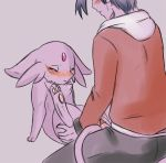 blush espeon eyes_closed female human interspecies male pokemon pokã©mon sex straight tartii vaginal