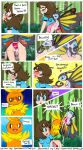 arthropod beautifly blue_eyes blush brown_hair butterfly chibi-depraved comic cum cum_in_pussy cum_inside english_text female hair human insect interspecies male nintendo pokemon pokã©mon pokã©philia text torchic vaginal video_games