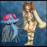 izka197 lopunny pokemon porkyman tentacruel