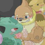 buizel bulbasaur pokemon raichu