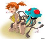 masterman114 masterman114_(artist) misty nintendo pokemon tentacruel