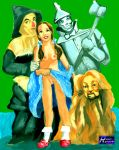 cowardly_lion dash_riprock dorothy_gale scarecrow the_wizard_of_oz tin_man wizard_of_oz