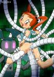 anal anus anus_juice ass big_ass big_breasts breasts cyborg exo-suit ivls_(artist) jenny_wakeman my_life_as_a_teenage_robot pussy pussy_juice robot selfcest tentacles vaginal