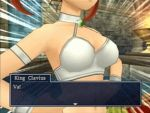 3d alternate_costume animated animated_gif breasts dragon_quest dragon_quest_viii jessica_albert jessica_albert_(dragon_quest) large_breasts lowres screencap square_enix